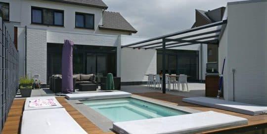 Schwimmbecken Pool C-Side mit Terrasse